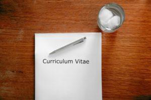 CV-履歴書